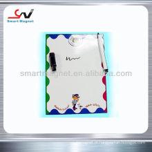 Ímã de placa magnética promocional com suporte de caneta