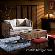 Unique Real Rattan Sofa, Furniture Set (RA1003)