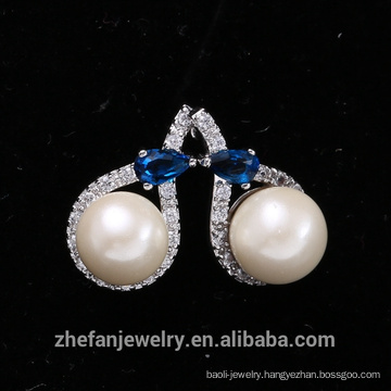 Elegant Pearl Oyster Statement Earring Fake Pearl Stud Earring