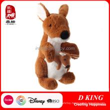 High-Quality Plush Kangaroo Stuffed Animals Kids Toy