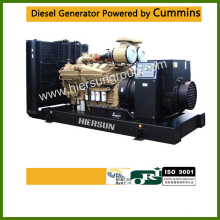 Powered by Cummins 576KW / 720KVA Gerador Diesel