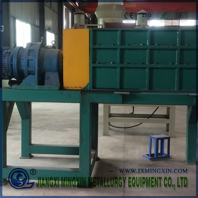 Four Shaft Industrial Used Car Battery Shredder