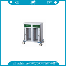 AG-GS010 Dark Green Medical Trolley