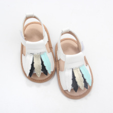 Wholesale Toddler Slipper Leather Baby Sandals Kids