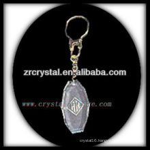 laser etched crystal keychain and blank crystal G056