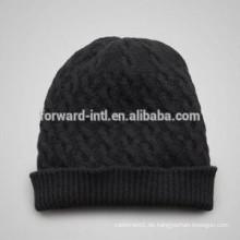 New Design 2014 warme gestrickte Frauen Wintermütze