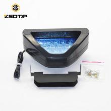 Éclairage arrière de moto de vente chaude avec feux de moto à led colorés F1 LED clignotant feu de freinage
