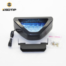 hot selling motorcycle rear light with colorful led motorcycle lights F1 LED flashing brake lamp