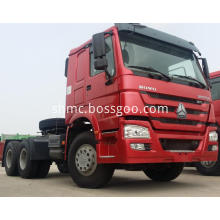 Heavy Tractor Truck Head 6x4 Driving