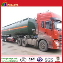 Camion-citerne de bitume de transport à trois essieux