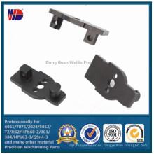 POM Black CNC Componentes mecanizados de plástico