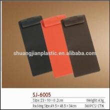 Small plastic order clip