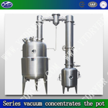 Series vacuum concentrator pot