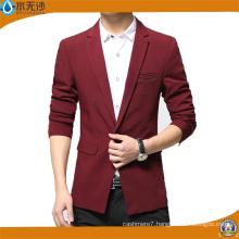 2017 Spring Men Blazers Cotton Fashion Outwear Casual Blazer