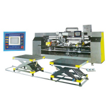 High speed semi automatic carton stitcher machine