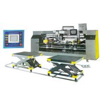 Máquina semiautomática automática de alta velocidad de cartón