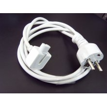 EU Plug 1.8m AC Power Adapter Extension Cable Cord for MacBook Air PRO Charger USA/EU/Au/UK