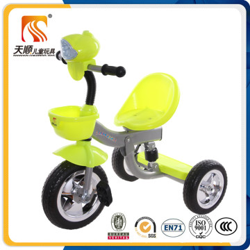 Multi-Musical Plasic Seat Kids 3 Wheel Tricycle Made in China