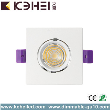 12W 4000K alumínio LED Tronco Downlight