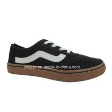 Zapatos nuevos de inyección de lona de los hombres de fábrica (J2608-M)