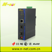 Industriële 10/100 / 1000M Ethernet-switch