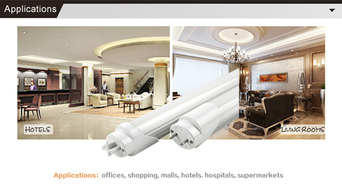 T8 LED Alu+PC Tube Light 2ft