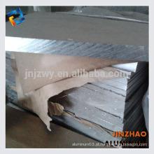 Placa de alumínio de liga quente 7075 de alta qualidade