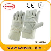 Licht Farbe Rindsleder Möbel Leder Industrie Arbeit Sicherheit Handschuhe (310031)