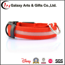 Recargable LED Brillo / Intermitente Poliéster Night safety Dog Collars