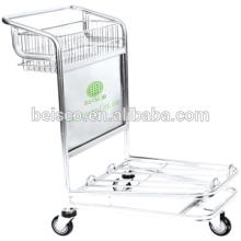 CE et ISO approuvé à roues chariot main bagages de roulement chariot bagages chariot bagages