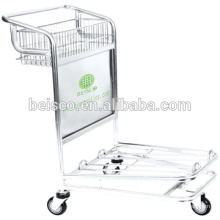 CE and ISO approved wheeled luggage cart luggage rolling cart luggage hand cart