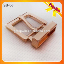 SB06 Nickel frei Pin Roller Buckles Damen Handtasche Gürtel Schuh Metall Gürtelschnalle