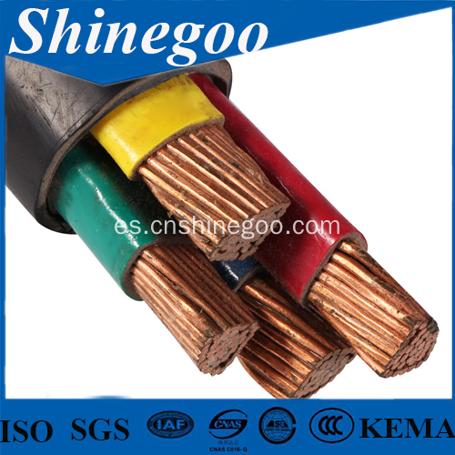 Cable de 185/240/300 sq Mm PVC Insulated