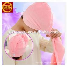 OEM microfiber magic hair towel with customer logo