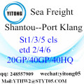 Shantou-Warehouse-Dienst auf Port Kelang
