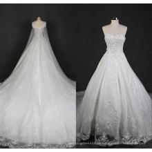 Xale vestido de casamento nupcial de vestido de baile destacável Wgf1702