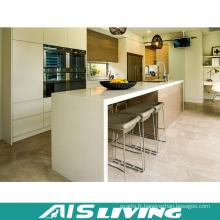 Mobilier de cabinet de cuisine en fibre de Chine pour le projet (AIS-K178)