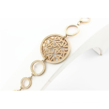 wholesale websites in china stainless steel jewelry link chains women gold bracelet