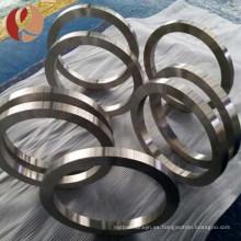 anillo de titanio caliente del grado 5 de la venta de la fábrica de China
