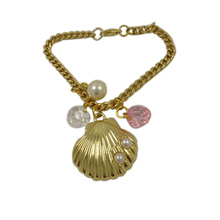 Fashion Ornaments Nice Metal Shell Pendant with Chain