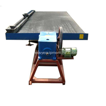 Shaker Table Vibration para Placer Gold Processing Equipment