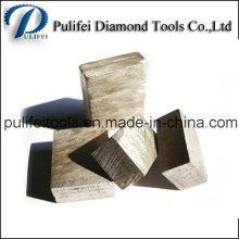 Type de Sandwich Multi-couche Granite Marbre Diamant Segment de coupe