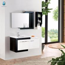 Einfache Moderne Design E1 Klasse Eco-Friend Massivholz Badezimmer Eitelkeit