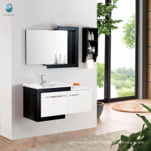 Simple Modern Design E1 Grade Eco-Friend Solid Wood Bathroom Vanity
