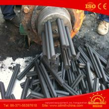 Máquina extrusora extrusora de barras / barras / barras de carbón