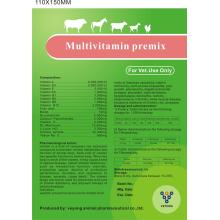 Multivitamin Premix Soluble Powder para animales