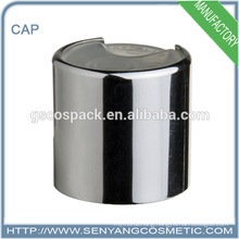 cosmetic bottle cap cosmetic cap disc top cap