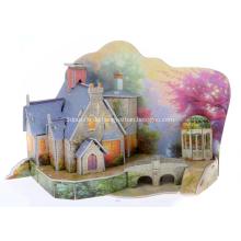 3D warmes Haus Puzzle