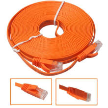 Cable de latiguillo plano Ultra Ethernet CAT5E