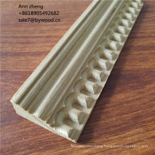 Engineered teak wood ceiling cornice moulding crown mouldings mdf moulding